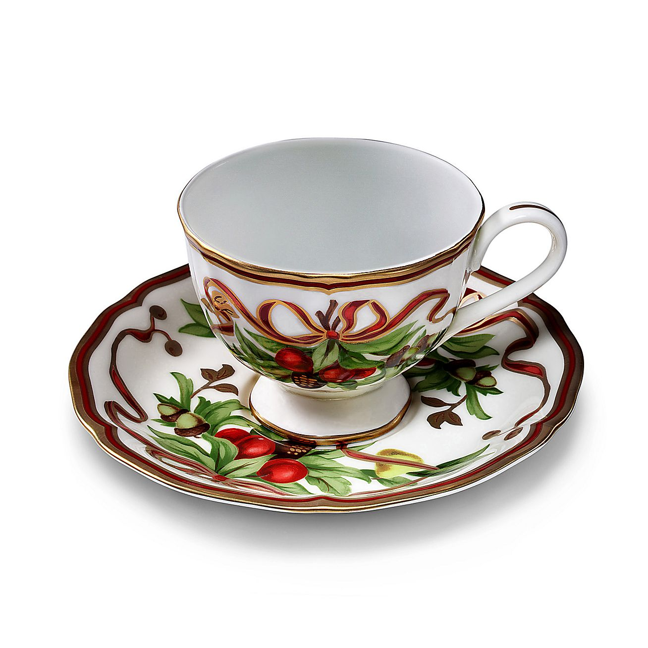 Tiffany Holiday™:Cup and Saucer