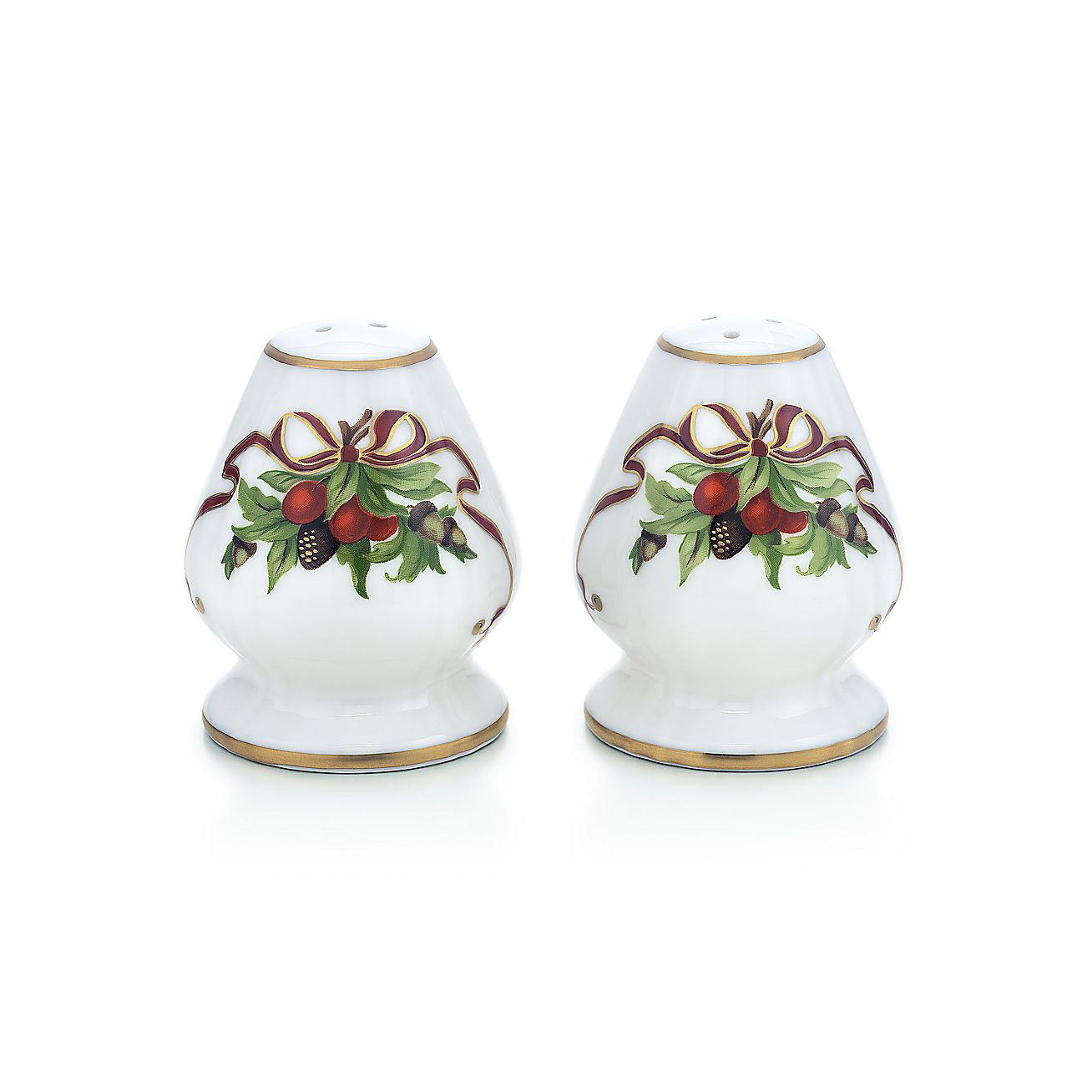 Tiffany Holiday™:Salt and Pepper Set