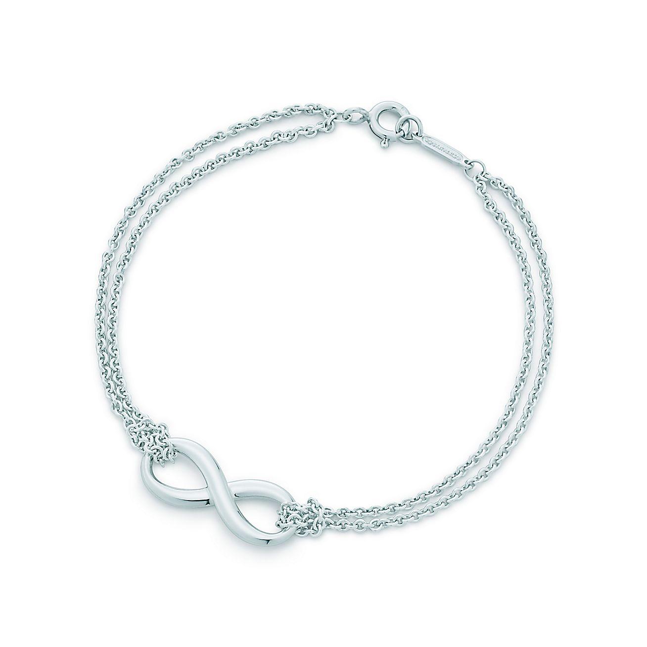 tiffany infinity armband aus sterlingsilber medium. Black Bedroom Furniture Sets. Home Design Ideas