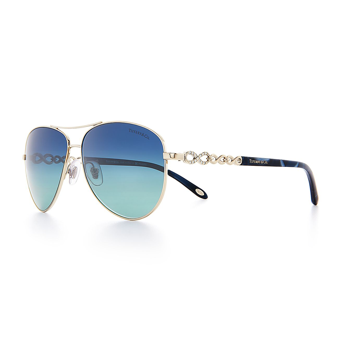 b09dbbdbe872 Tiffany And Co Gold Aviator Sunglasses « Heritage Malta