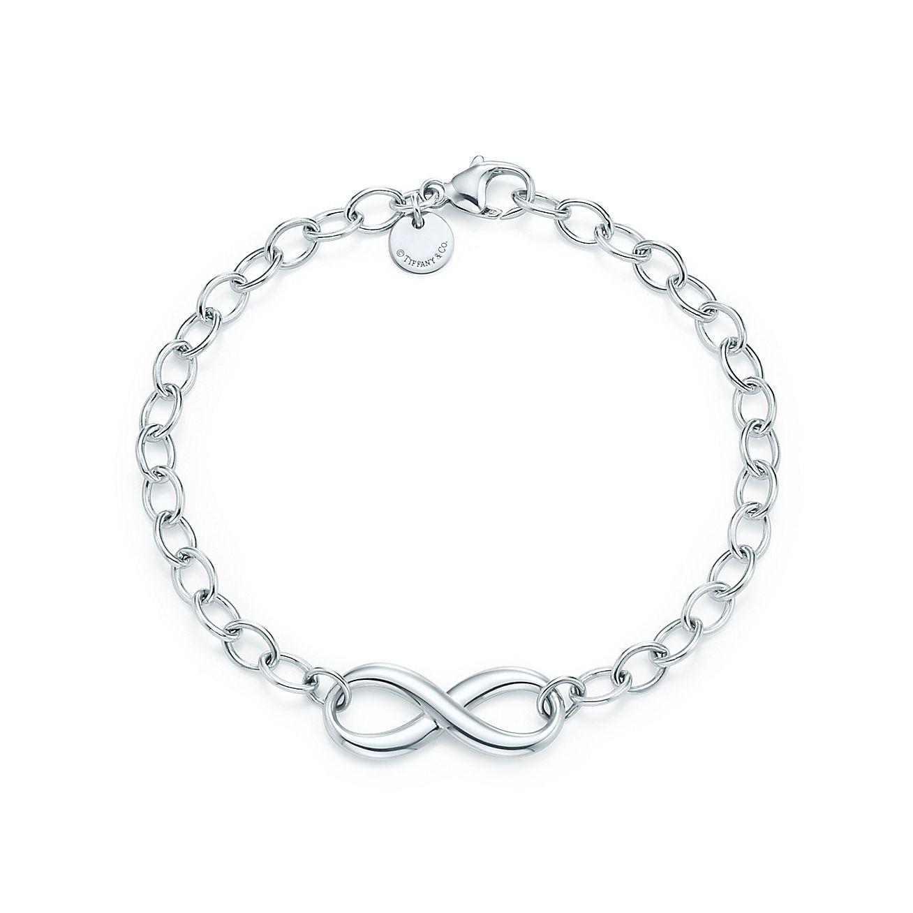 infinity bracelet in sterling silver tiffany co. Black Bedroom Furniture Sets. Home Design Ideas