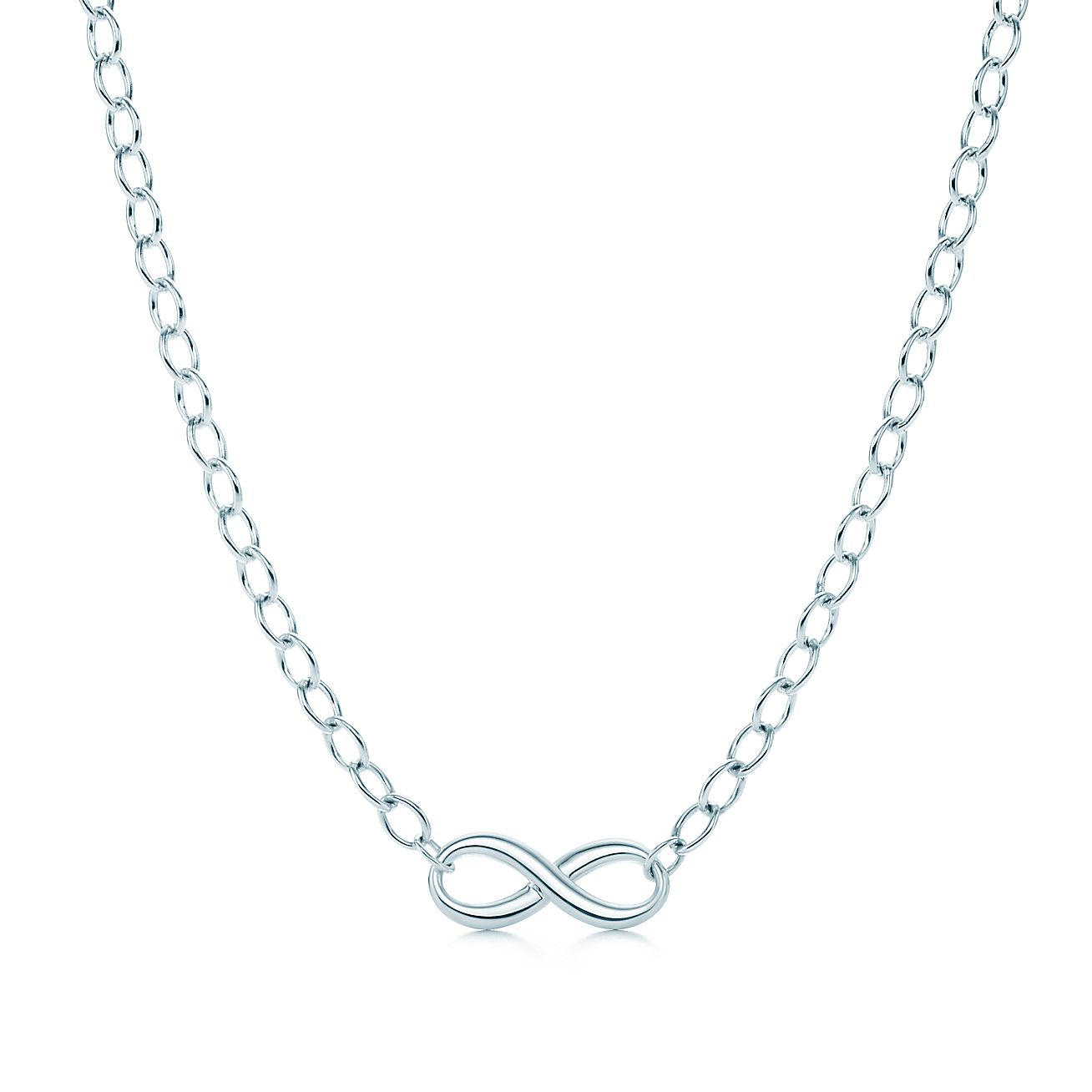 Tiffany Infinity necklace in sterling silver. | Tiffany