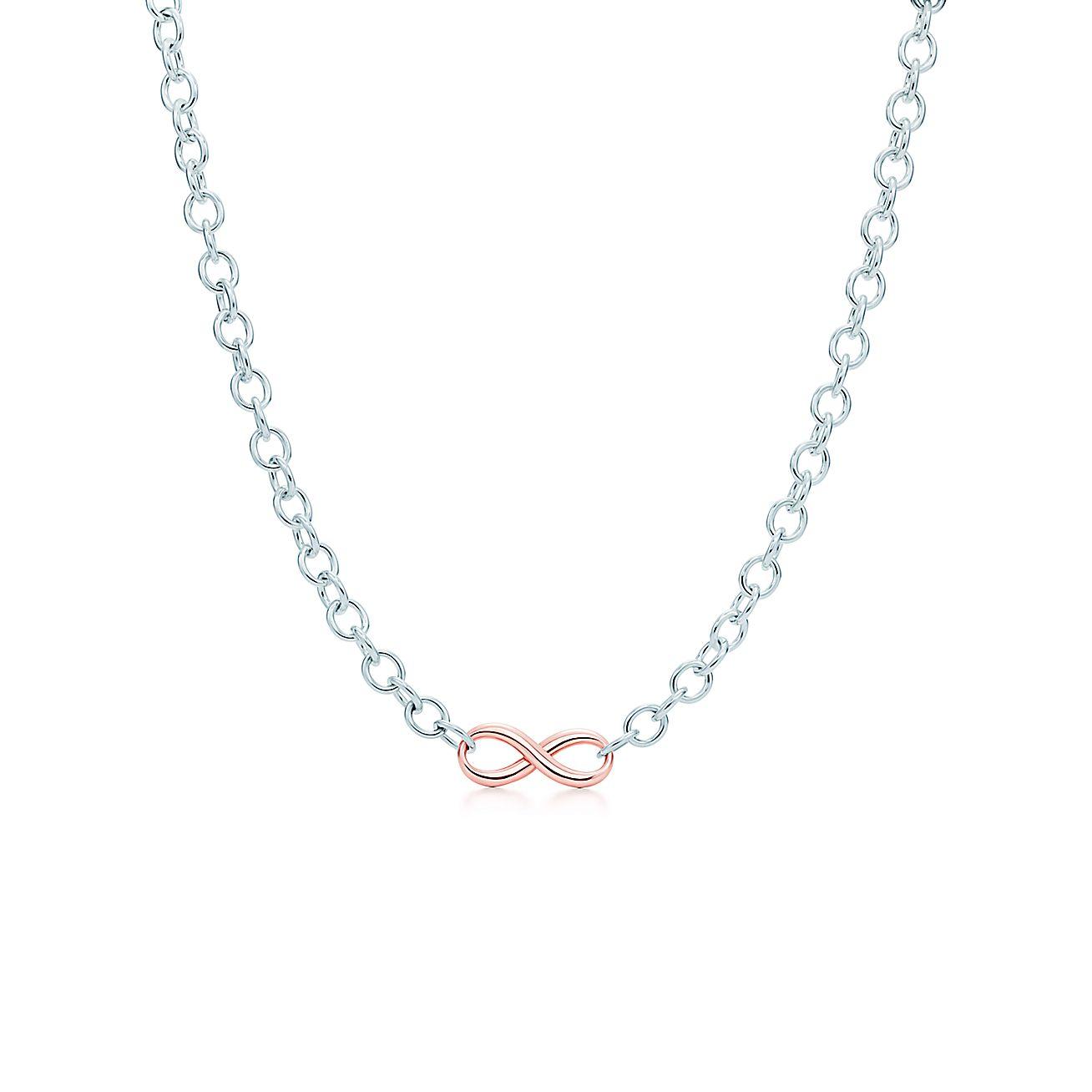Tiffany Infinity:Necklace