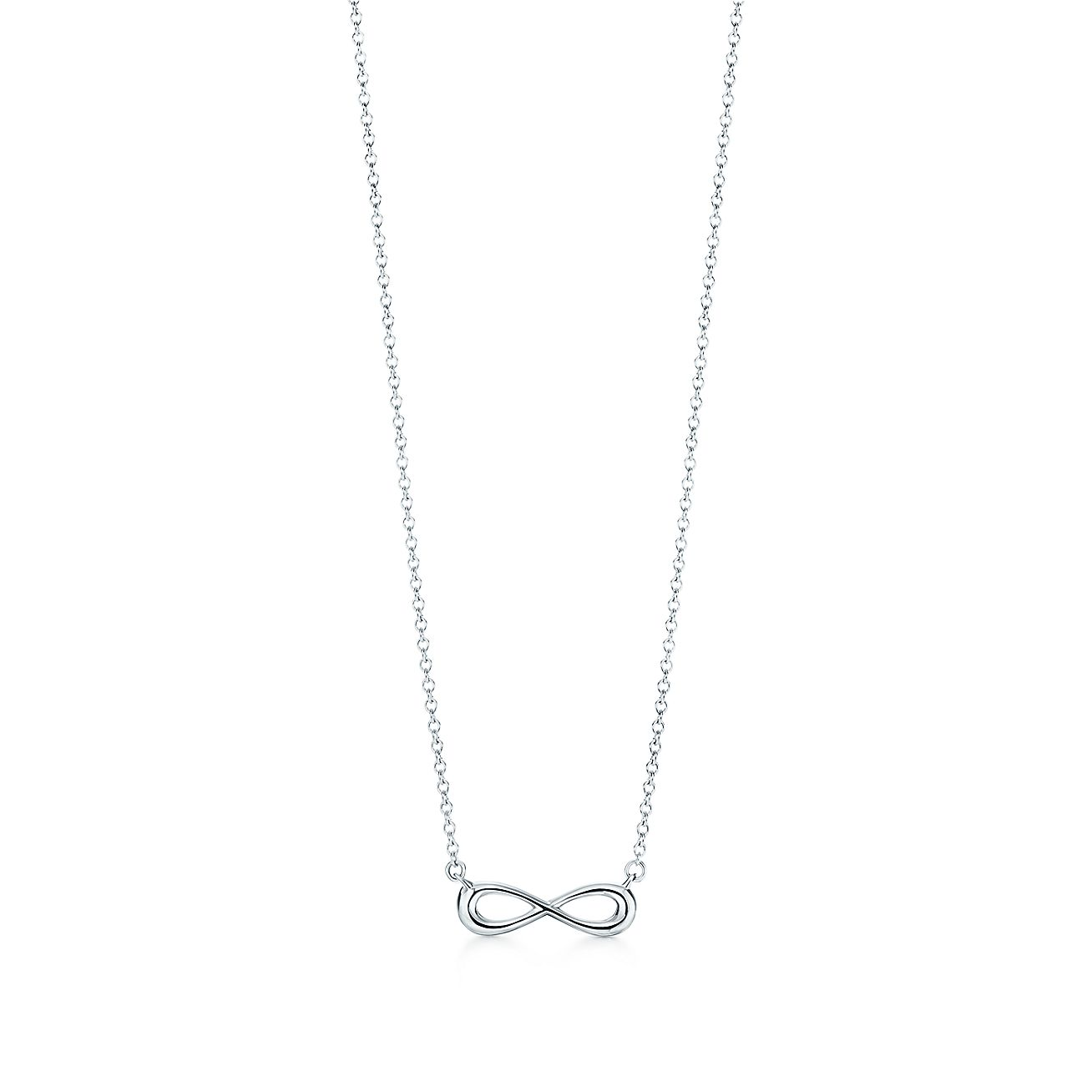 Tiffany Infinity pendant in sterling silver, mini. | Tiffany
