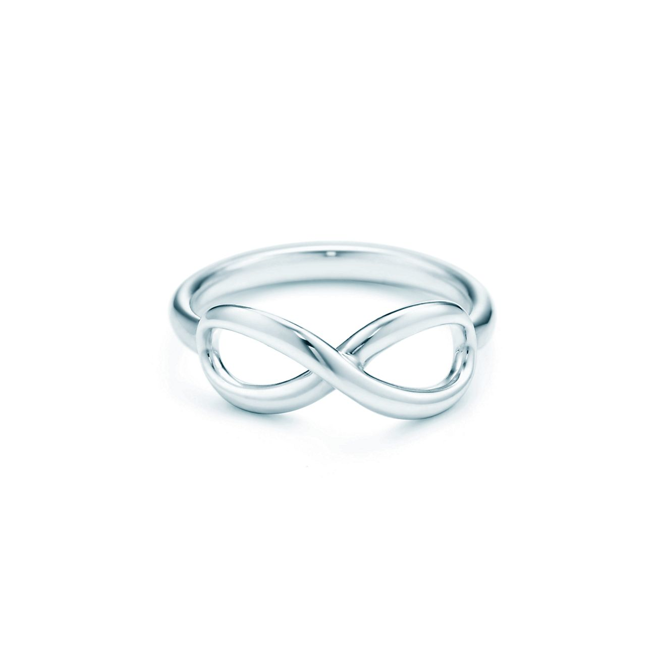tiffany infinity ring in sterling silver tiffany amp co