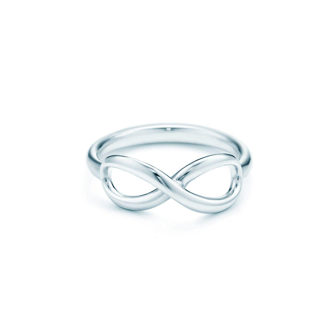 Bague infinity tiffany