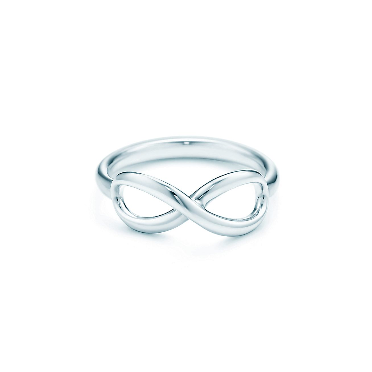Tiffany Infinity ring in sterling silver. | Tiffany & Co.
