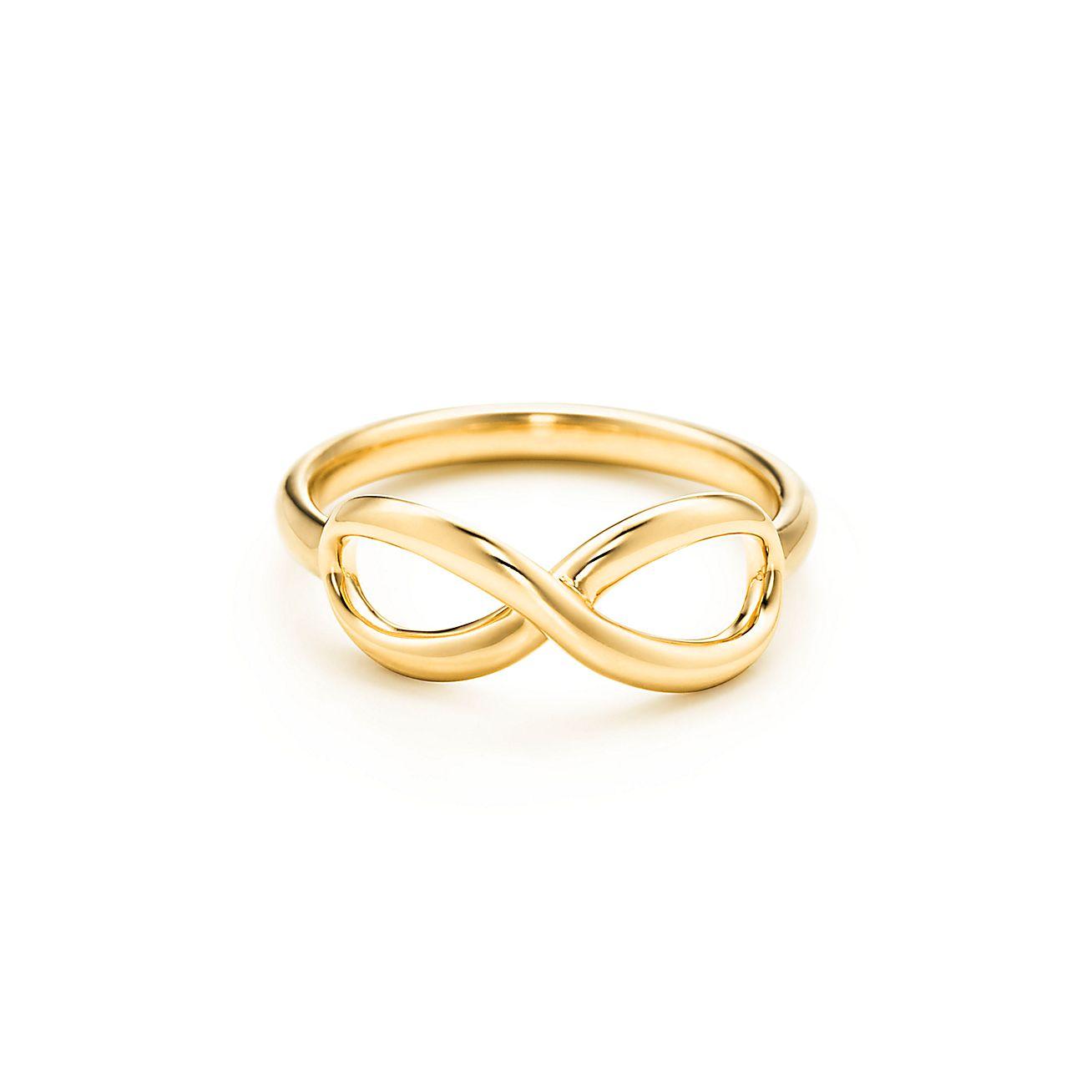 Tiffany Infinity ring in 18k gold | Tiffany & Co.