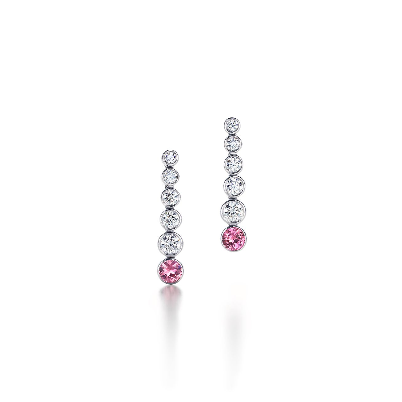 3bf74e2b5 ... tiffany jazz™ graduated drop earrings with sapphires and diamonds in  platinum. tiffany co. ...