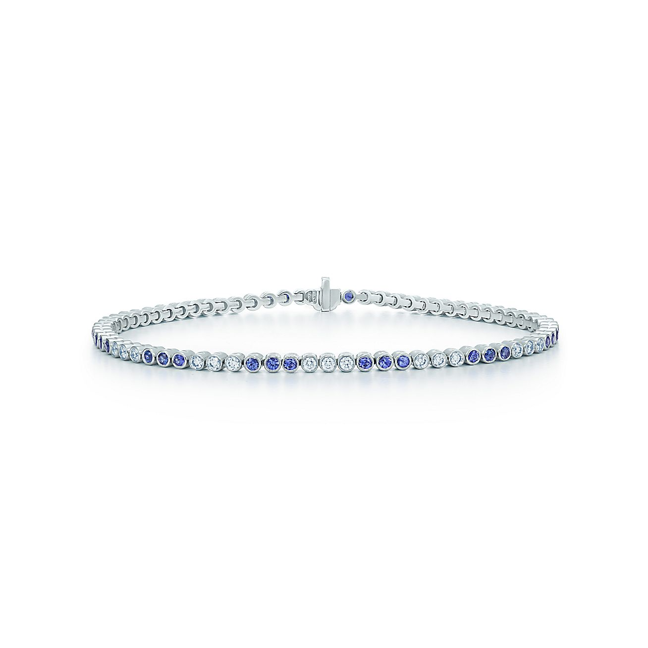Tiffany Jazz™:Diamond and<br>Sapphire Bracelet
