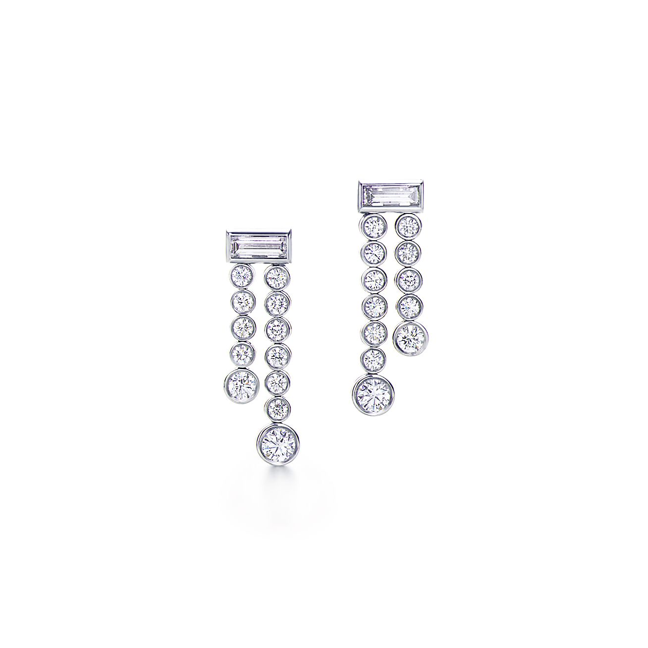 Tiffany Jazz™:Double Drop Earrings