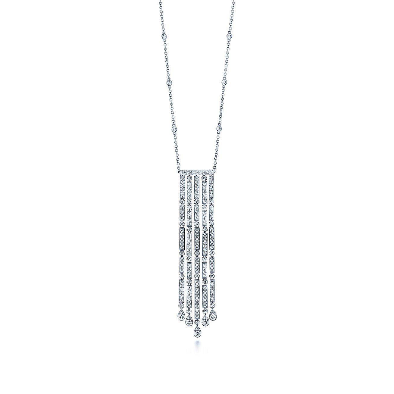 Tiffany Jazz™:Five-bar Drop Pendant