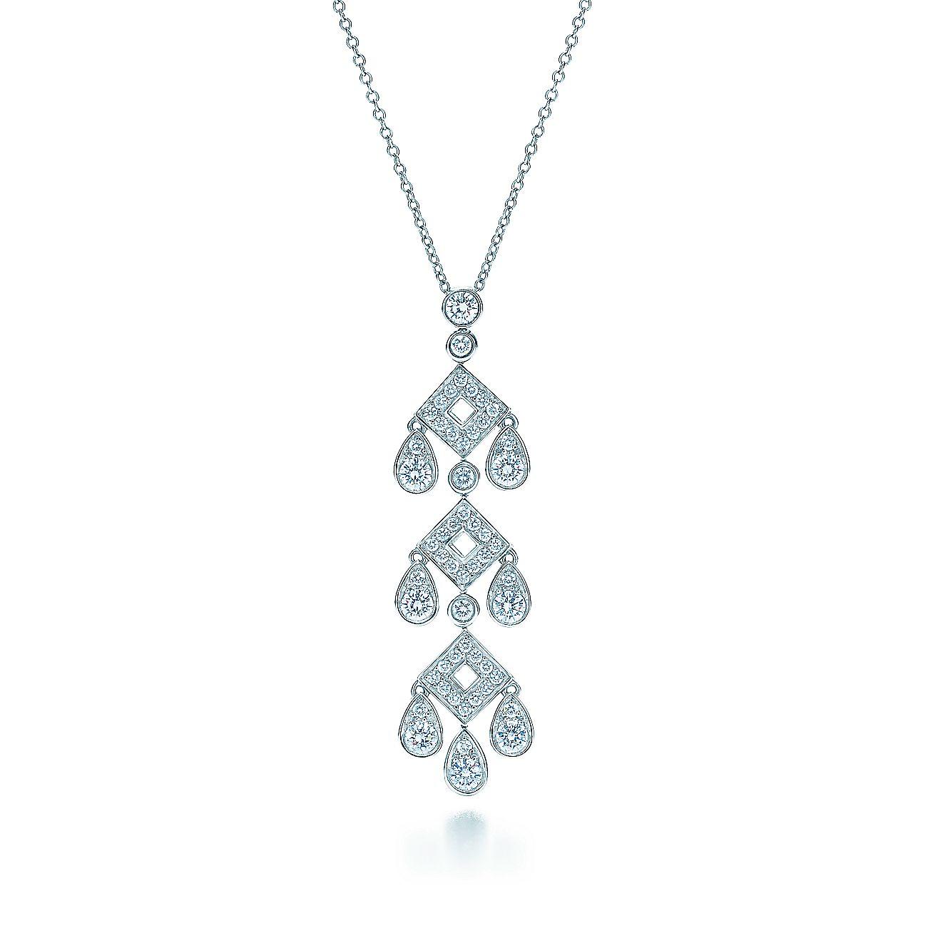 Tiffany Jazz™:Pagoda Pendant