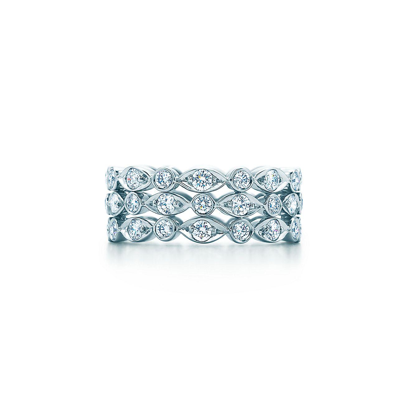 Tiffany Jazz™:Three-row Ring