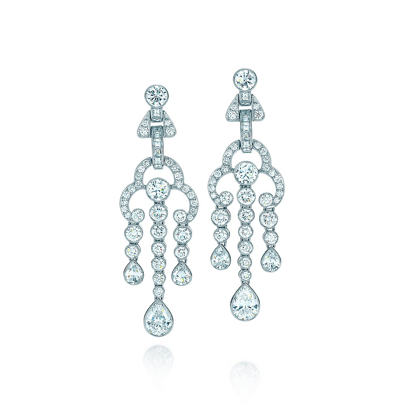 Tiffany Jazz™:Triple Drop Earrings