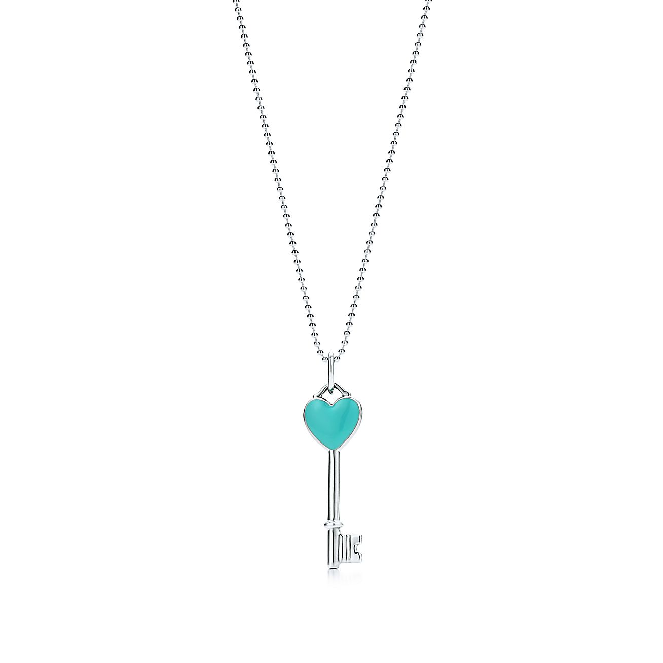 Tiffany Keys<br>Heart key charm