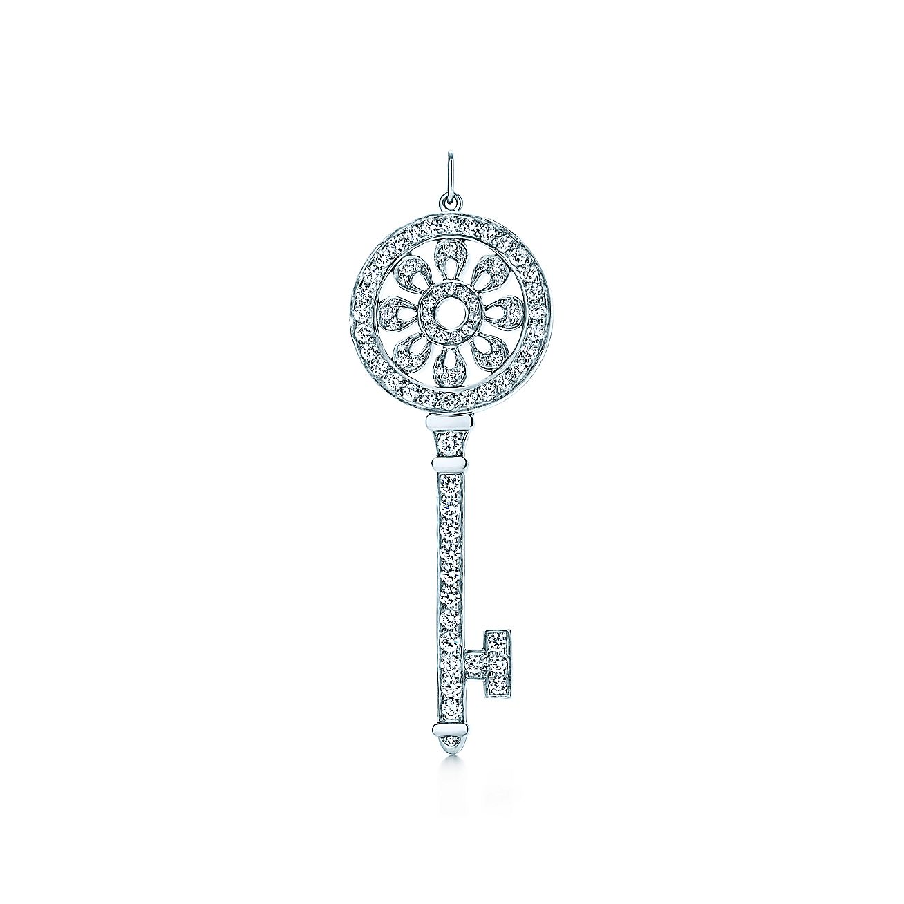 Tiffany Keys:Petals Key Pendant