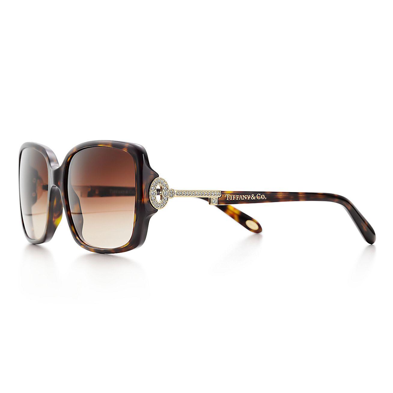 Tiffany Keys:Rectangular Sunglasses