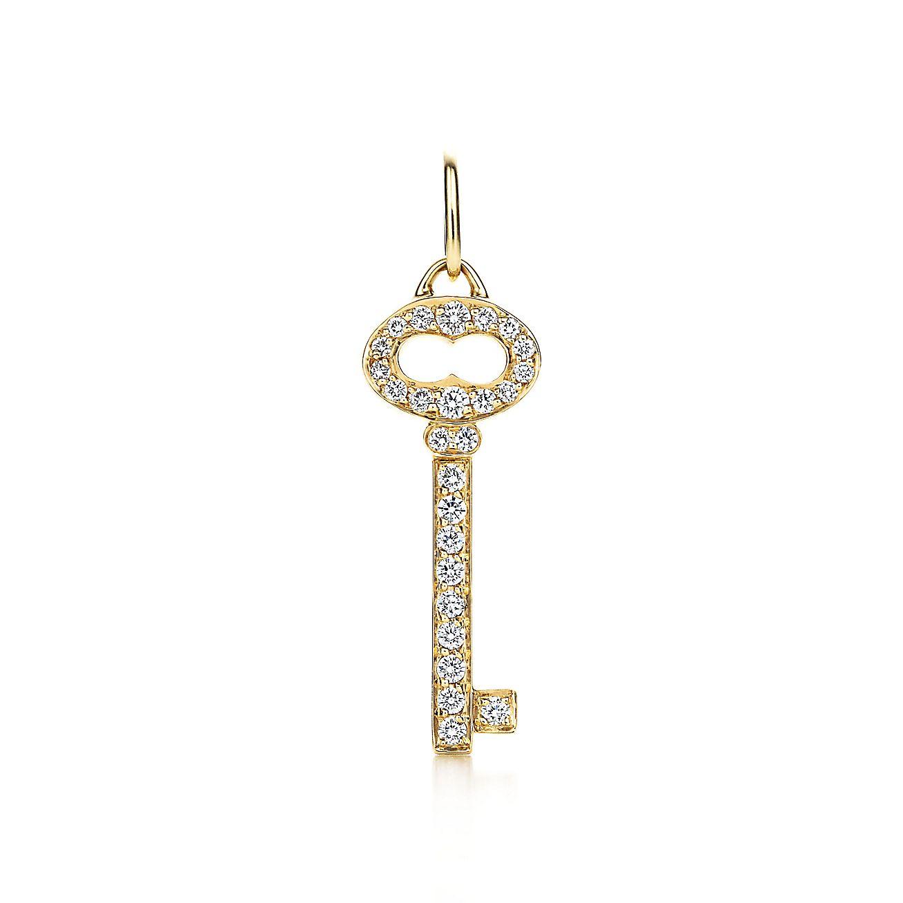 Tiffany Keys:Vintage Oval Key Charm
