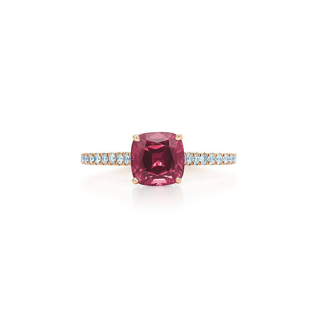 Tiffany Legacy®:Pink Tourmaline Ring