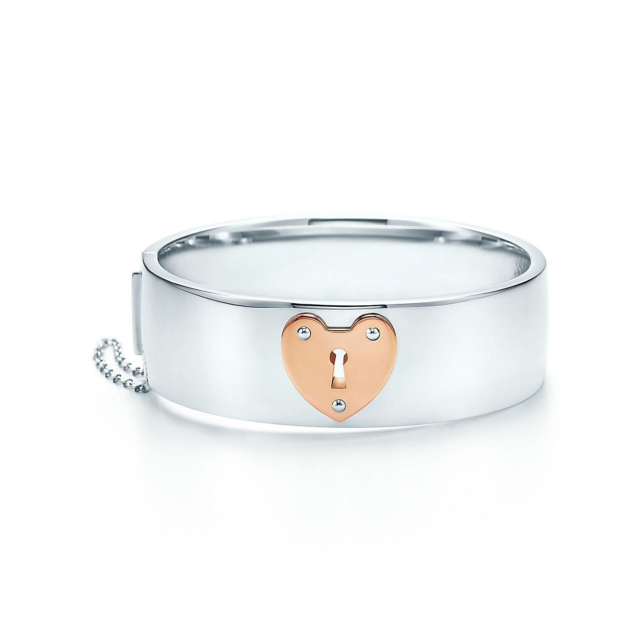 Tiffany Locks:Heart Lock Bangle