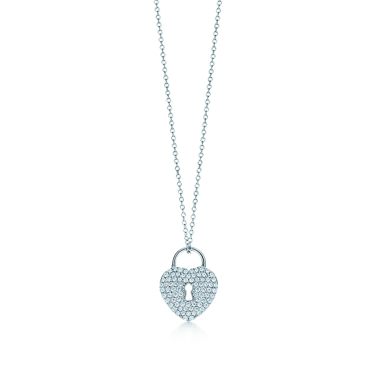 Tiffany Locks:Heart Lock Pendant