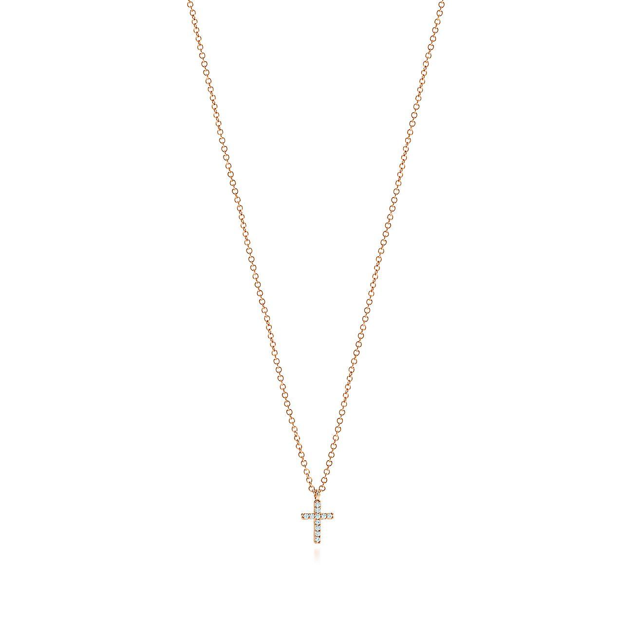 Tiffany Metro:Cross Pendant