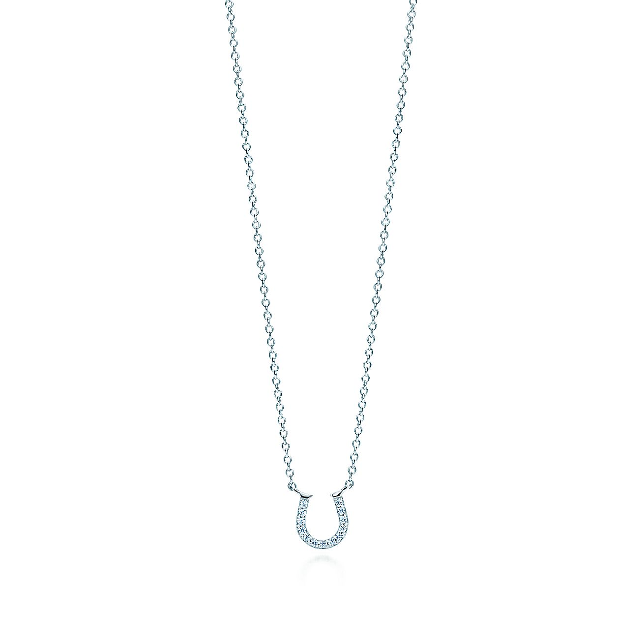 Tiffany Metro:Horseshoe Pendant