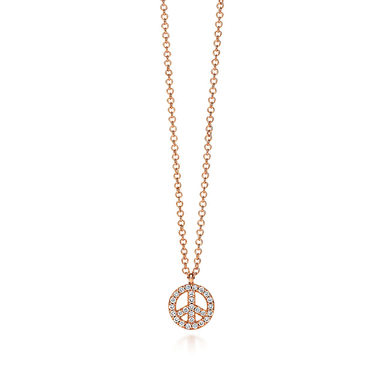 Tiffany Metro:Peace Sign Pendant
