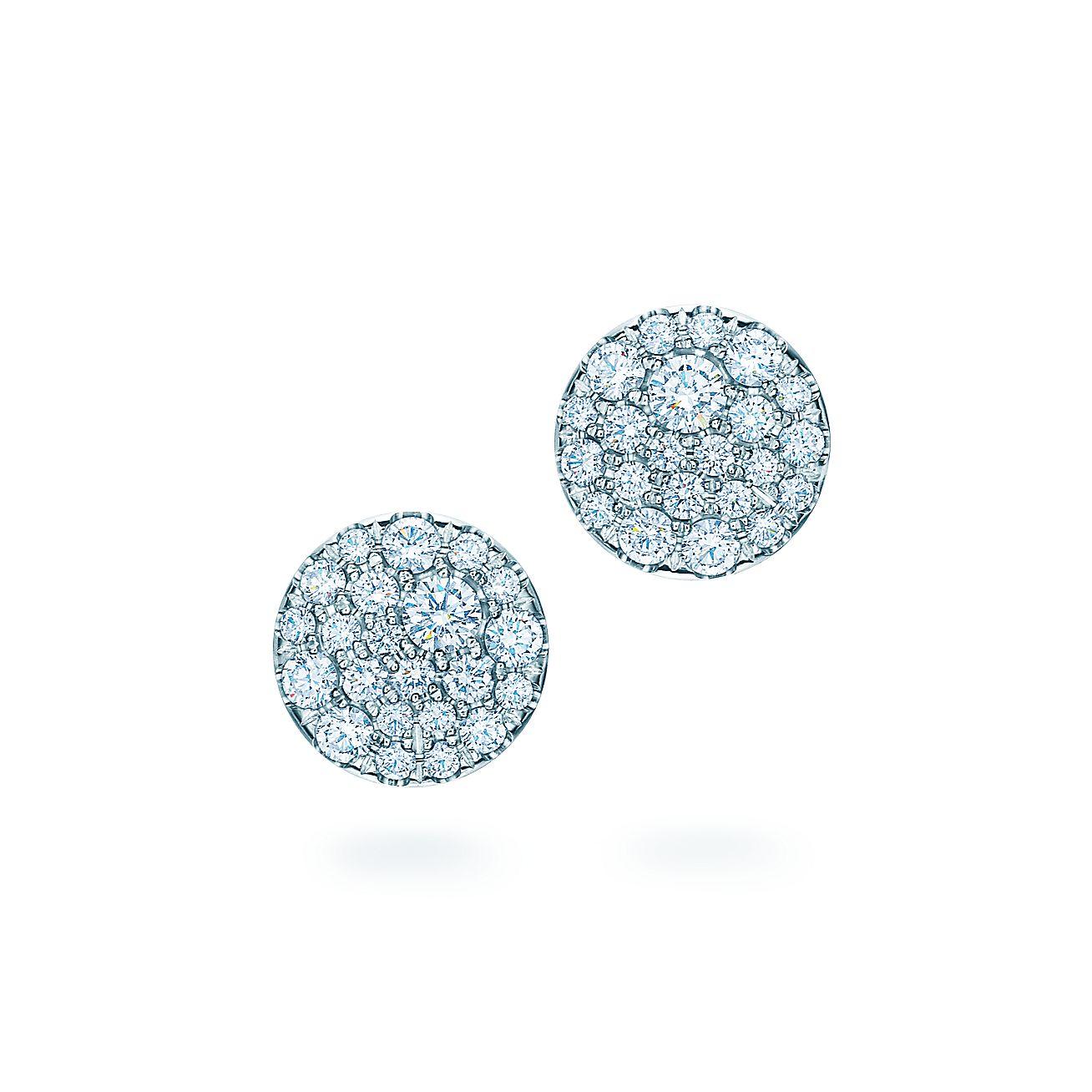 Tiffany Metro:Round Earrings