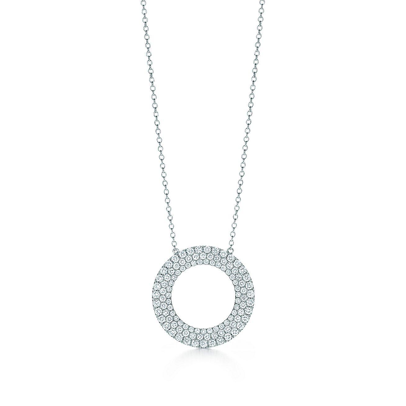 Tiffany Metro:Three-row Circle Pendant
