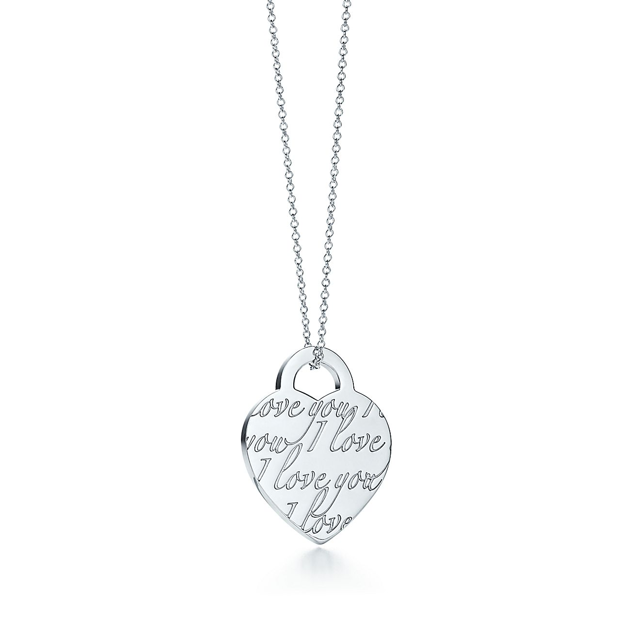 Tiffany Notes<br>I Love You pendant
