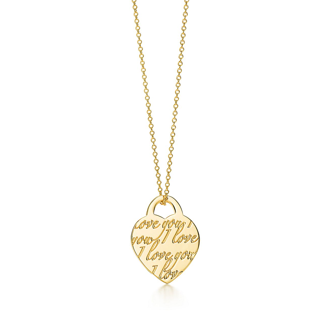 "Tiffany Notes®:""I Love You"" Pendant"