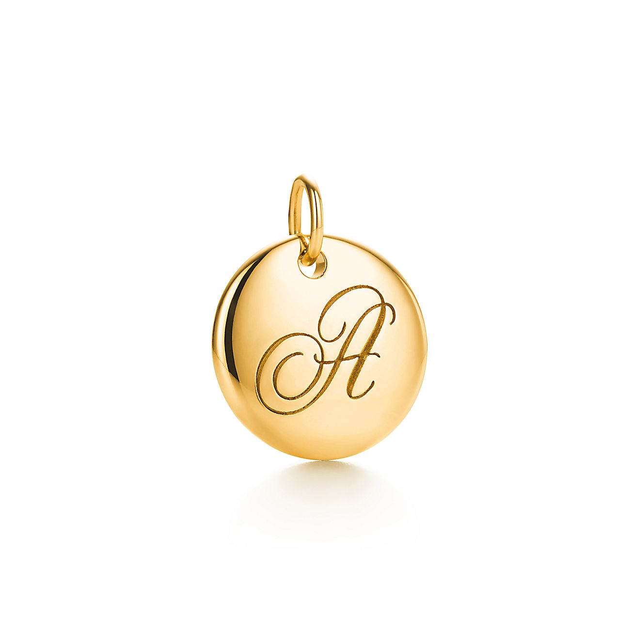 "Tiffany Notes®:Letter ""A"" Disc Charm"