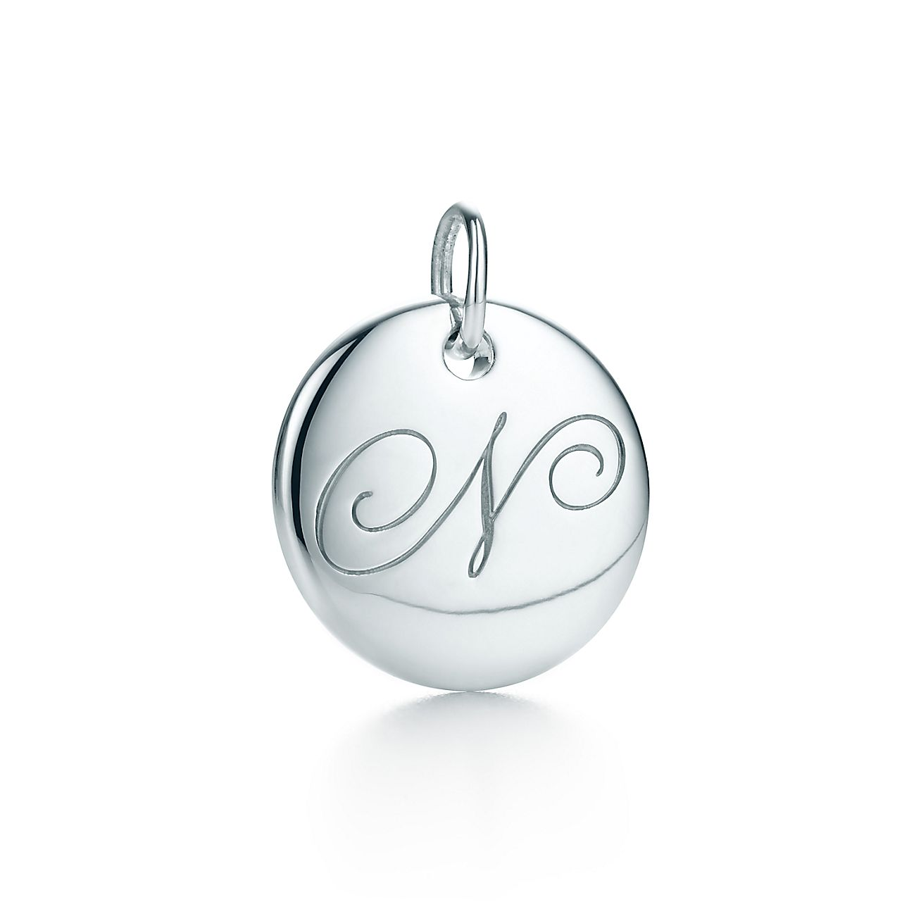 "Tiffany Notes®:Letter ""N"" Disc Charm"