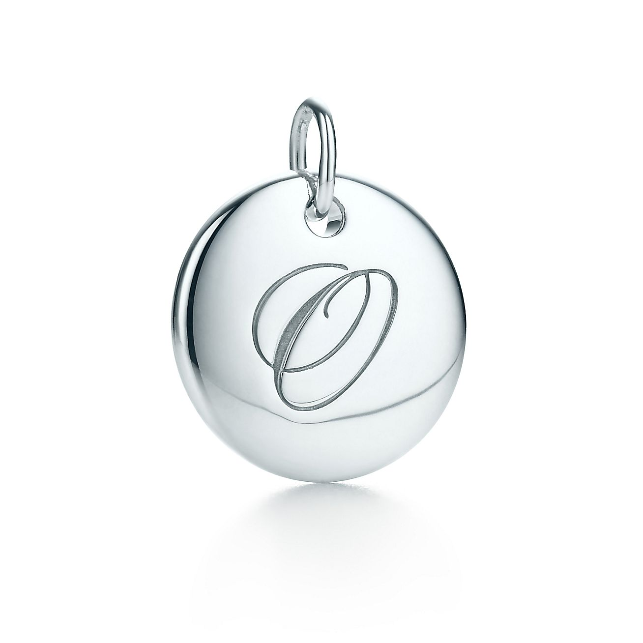 "Tiffany Notes®:Letter ""O"" Disc Charm"