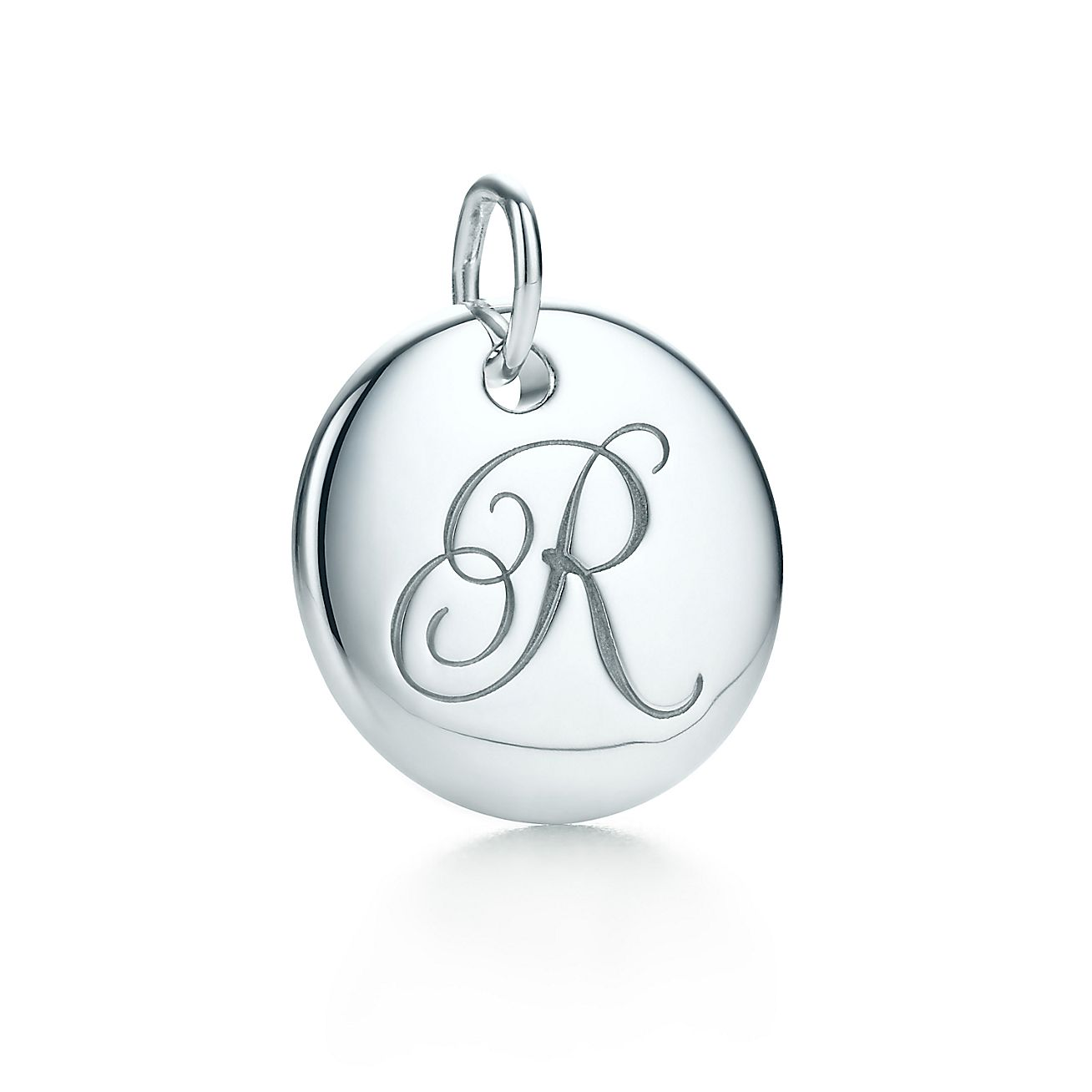 "Tiffany Notes®:Letter ""R"" Disc Charm"
