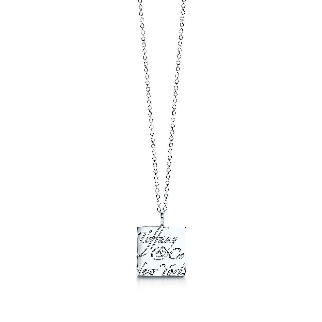 Tiffany Notes®:Square Pendant