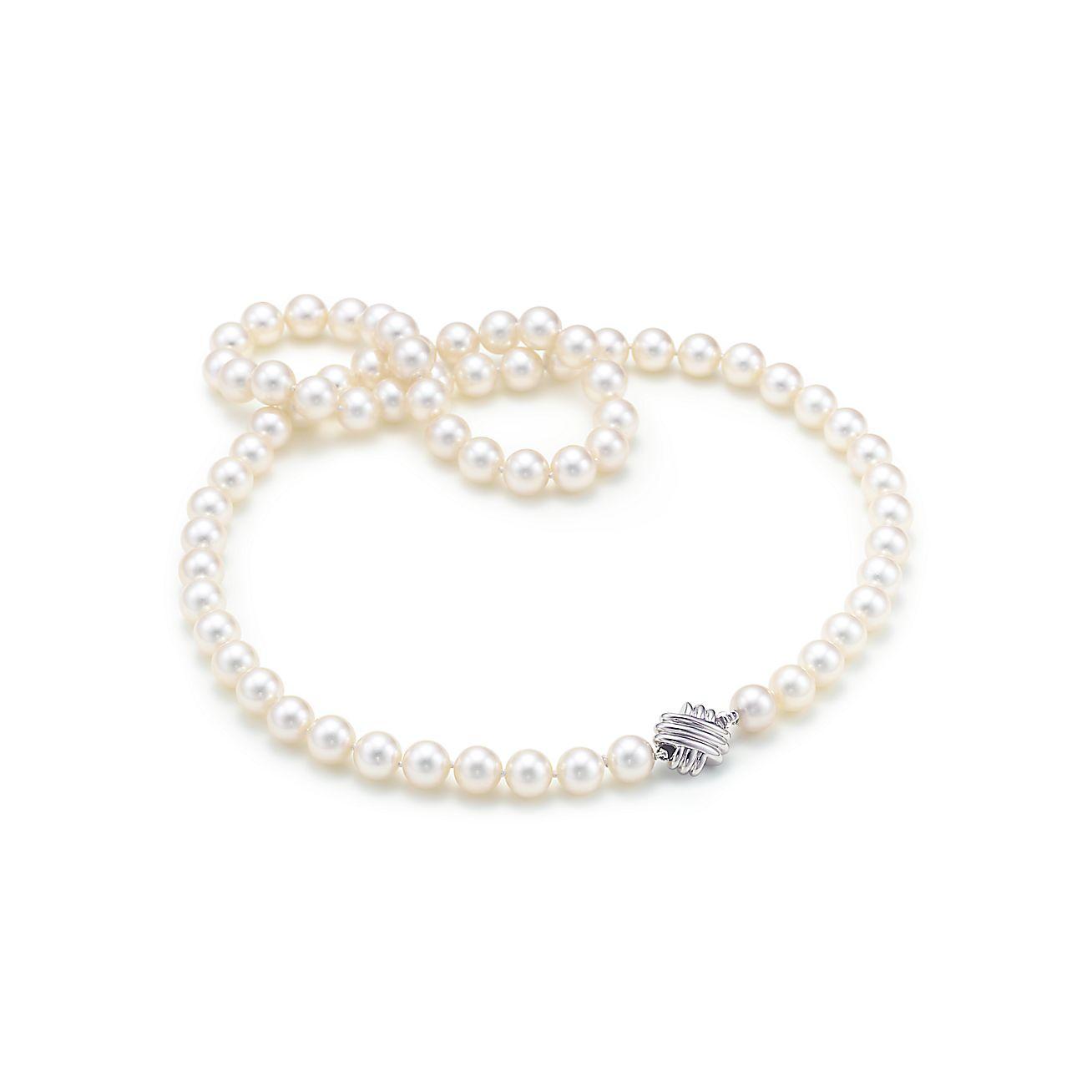 Tiffany Signature™:Pearl Necklace
