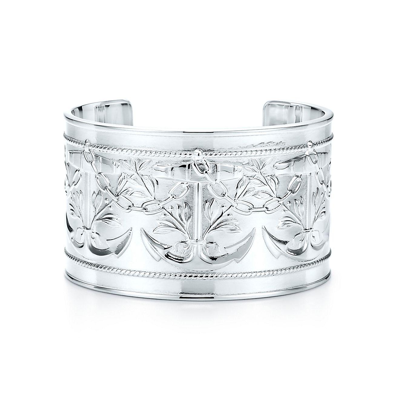 Tiffany Silver Studio:Anchor Cuff