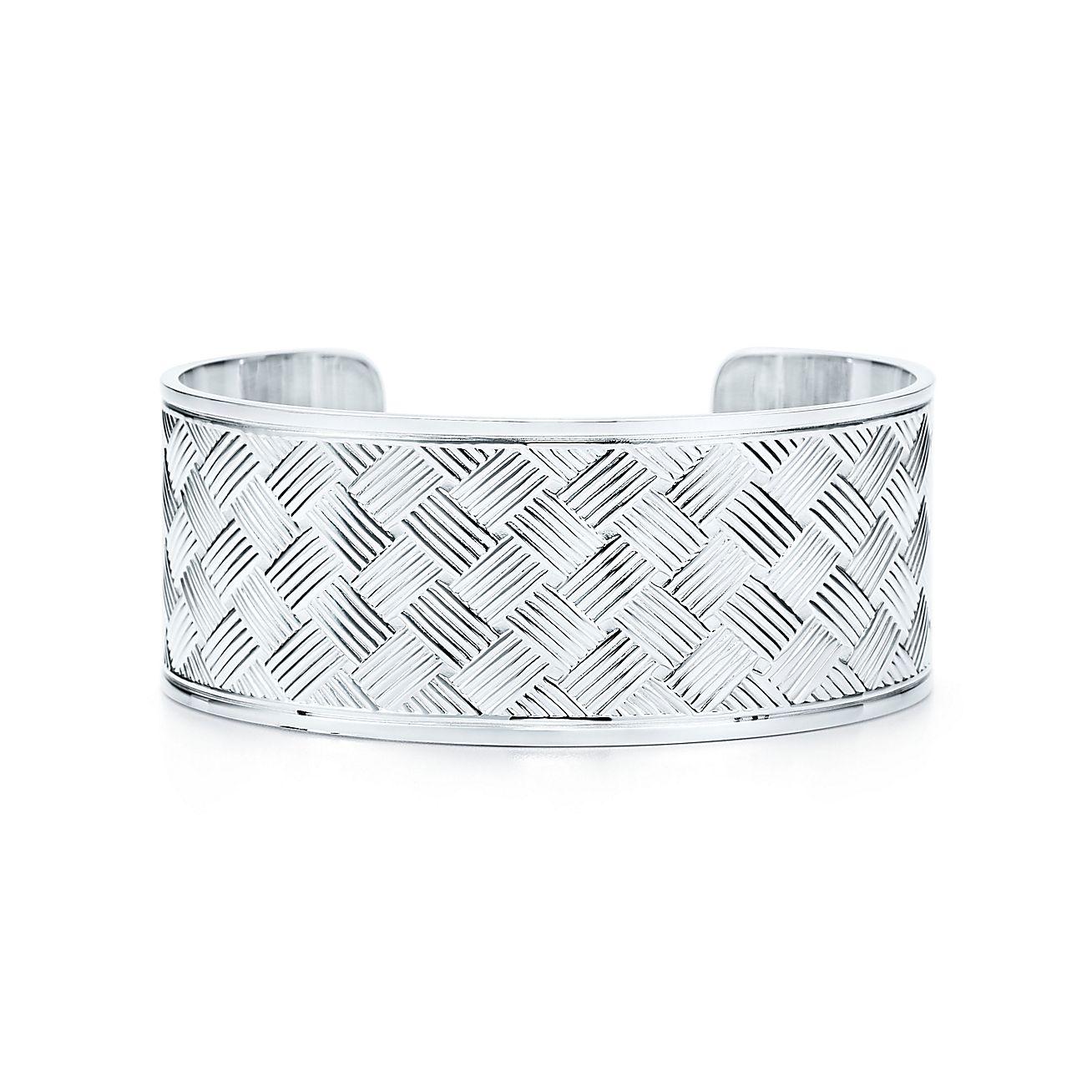 Tiffany Silver Studio:Basket-weave Cuff