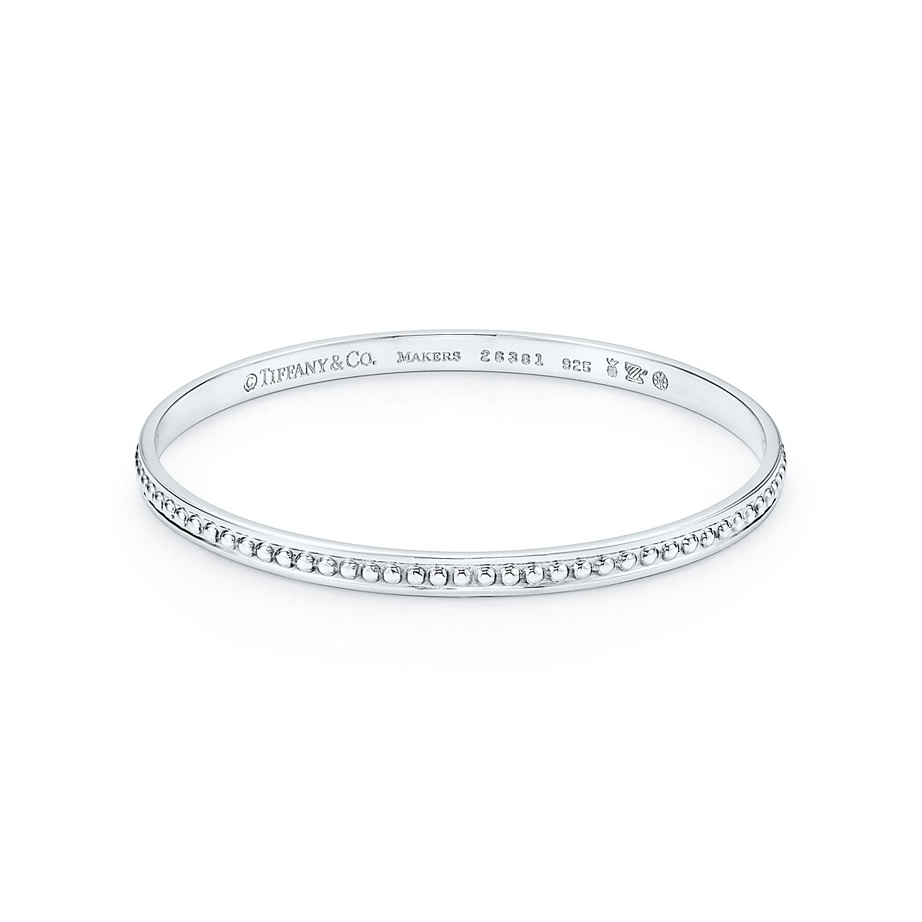 Tiffany Silver Studio:Beaded Bangle