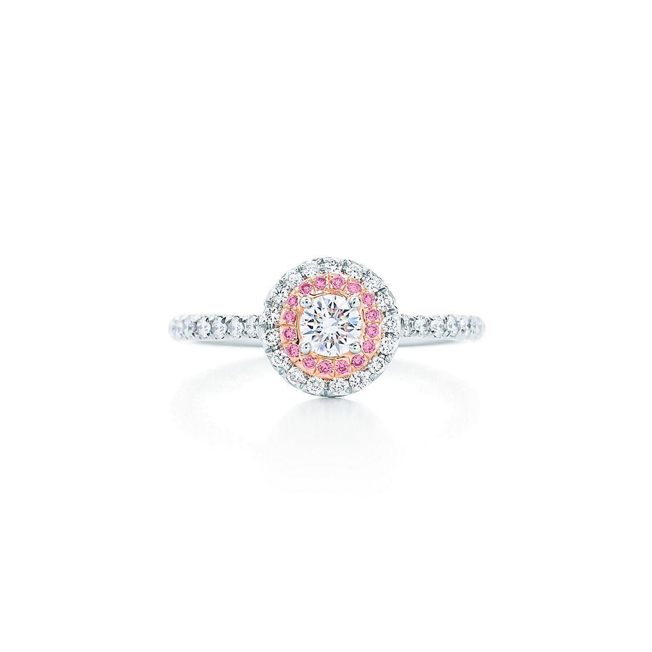 Browse Rings Tiffany Soleste Ring Pink