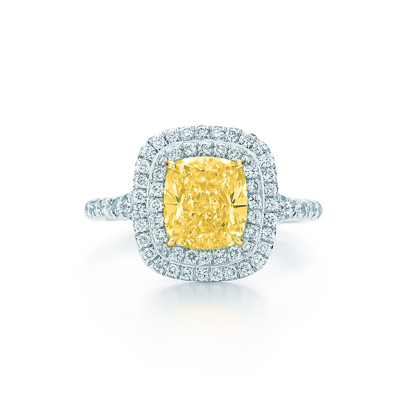 Tiffany Soleste®:Yellow Diamond Ring