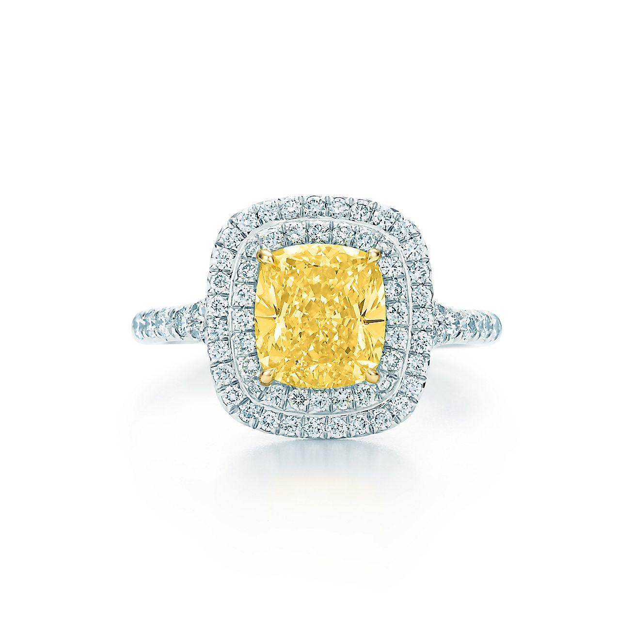 Tiffany Soleste®:Yellow Diamond Ring