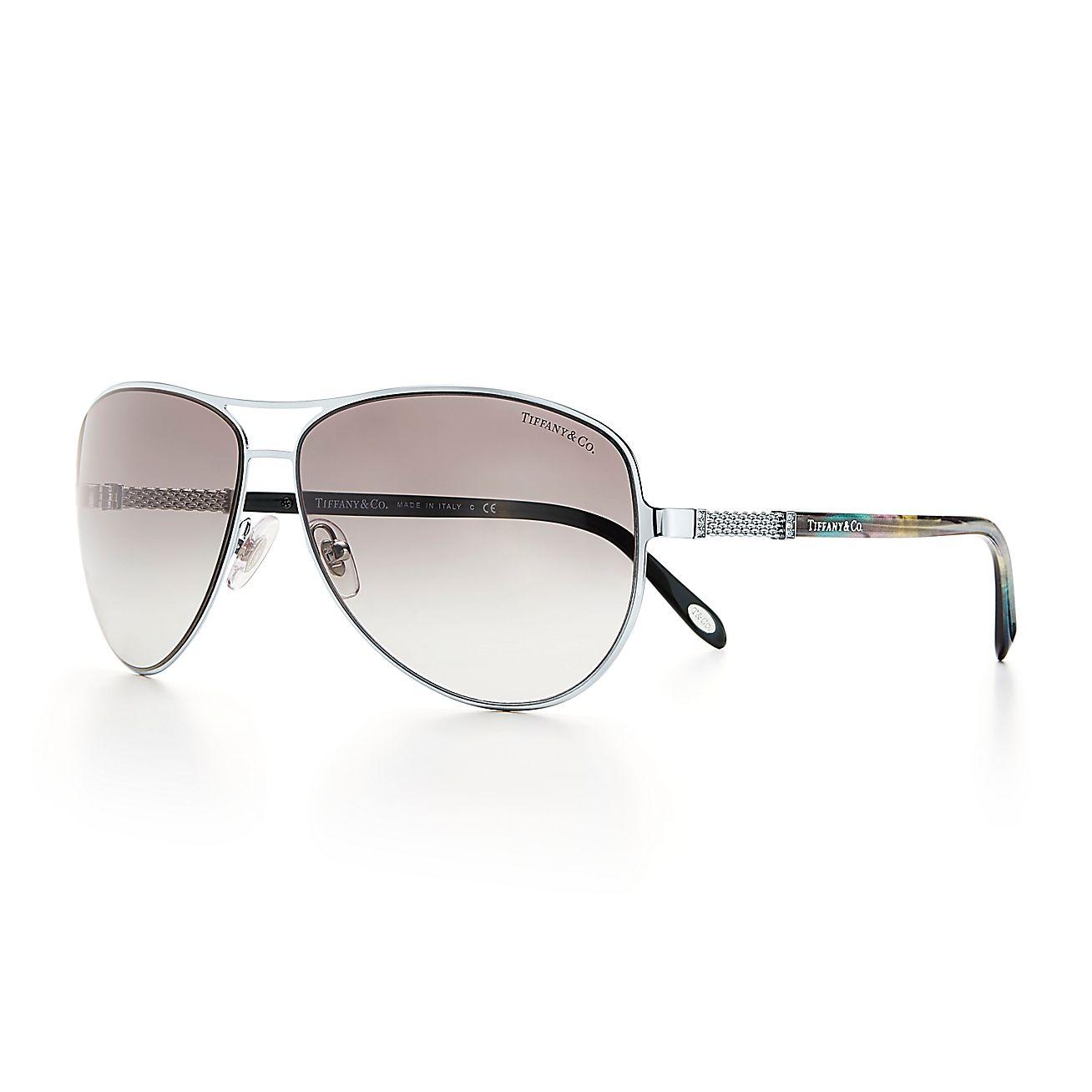 d3a30eed3f8 Tiffany Aviator Sunglasses Silver « Heritage Malta