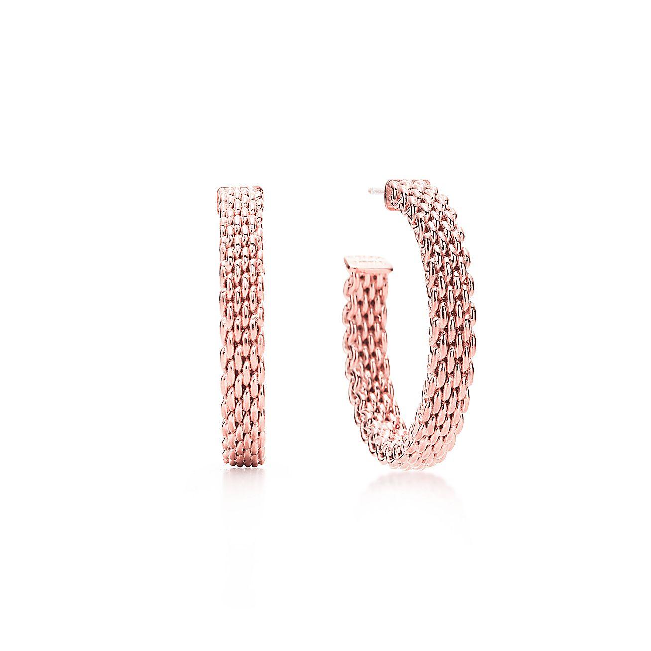 Tiffany Somerset™:Classic Hoop Earrings
