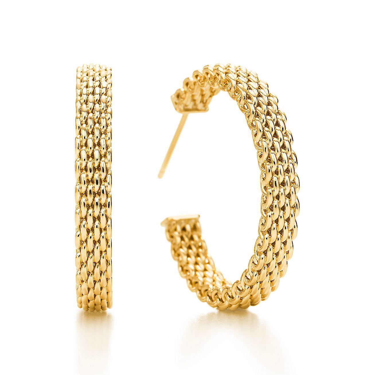 Tiffany Somerset™:Hoop Earrings