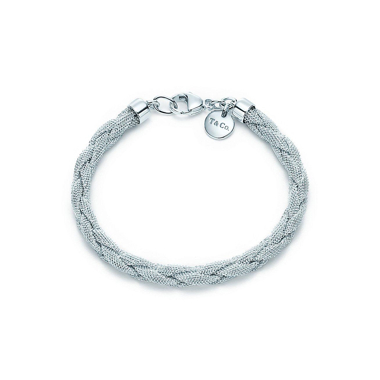 Tiffany Somerset™:Narrow Braid Bracelet