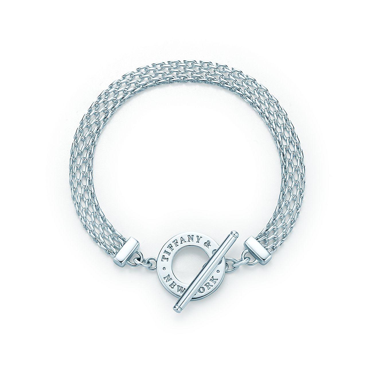 Jewelry Bracelets Tiffany Somerset Toggle Bracelet Grp07566 Top Tiffany Bracelets